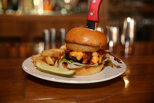 Wholly Smokin' AWESOME Burger