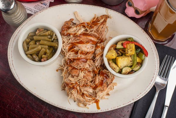 Pulled Chicken Platter