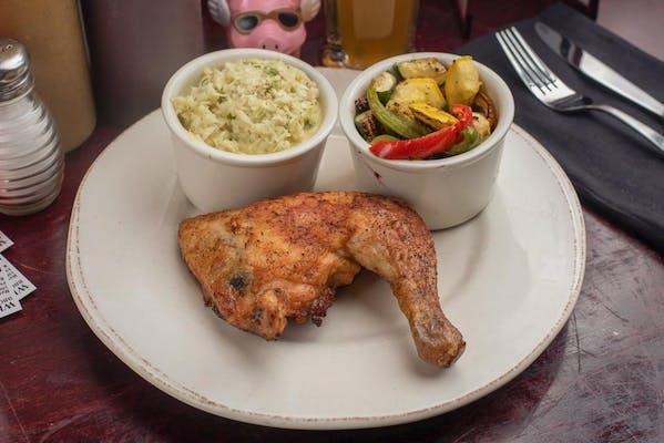 (¼) Smoked Chicken Platter