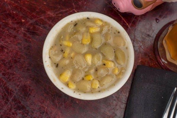 Side Baby Limas & Roasted Corn