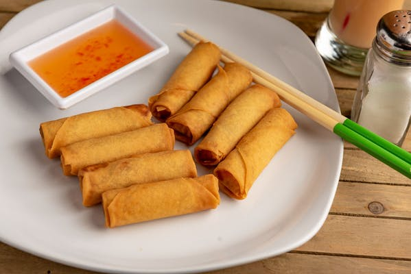 6. Fried Mini Spring Rolls