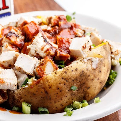Grilled Chicken Baked Potato