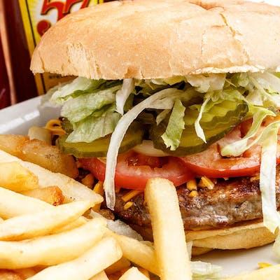 Quarter Pound Hamburger