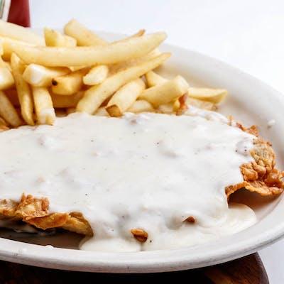 Chicken Fried Steak & Cream Gravy
