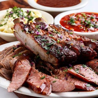 Three Meat Combo Dinner