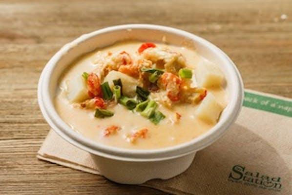 Crawfish Pepper Jack Soup