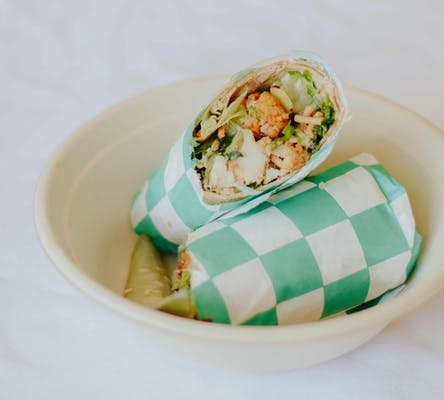 Oriental Chicken Wrap