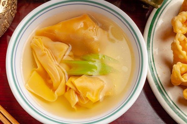 8. Wonton Soup