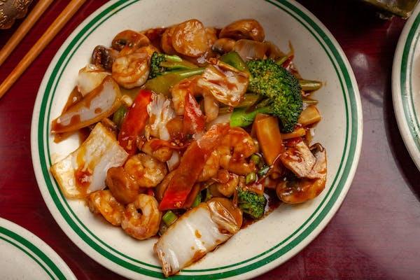 53. Shrimp w/ Mixed Vegetables