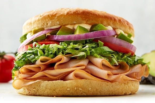Avocado Turkey Sandwich