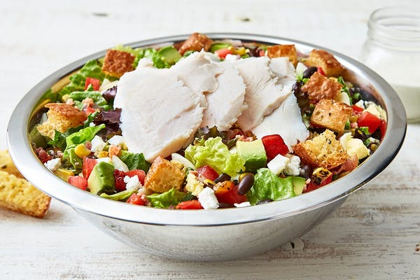 Turkey Avocado Cobb Salad