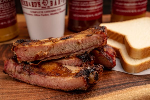 All-Meat Rib Plate