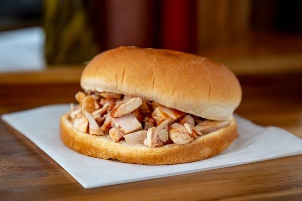 Chopped Chicken Sandwich