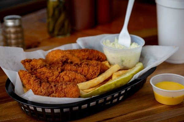 Chicken Tender Plate