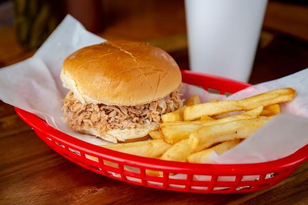 Jr. BBQ Sandwich