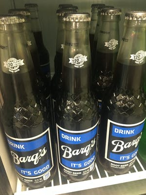 Bottled Barqs Root Beer