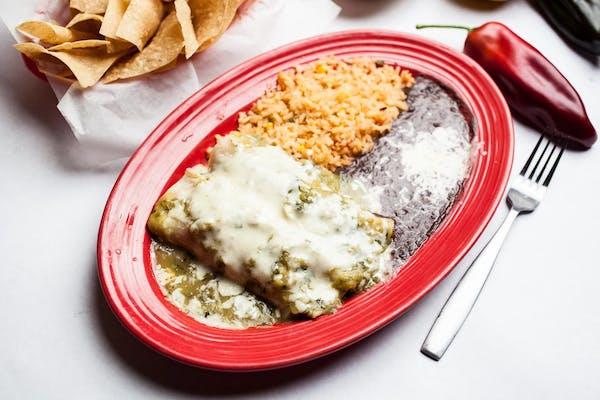 #31 Enchiladas Verdes