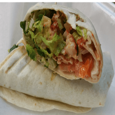 Crawfish Wrap