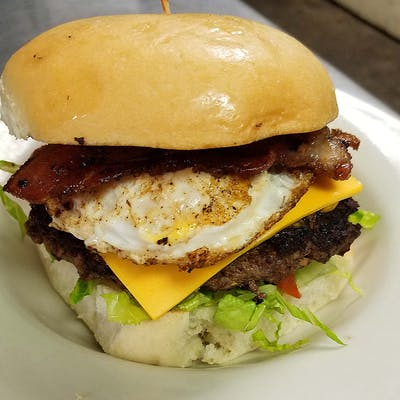 Bacon & Egg Burger
