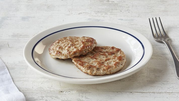 (2) Turkey Sausage Patties