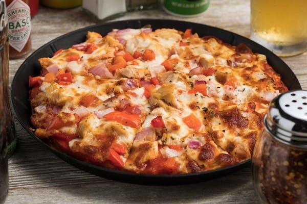 Grilled Chicken Pizza