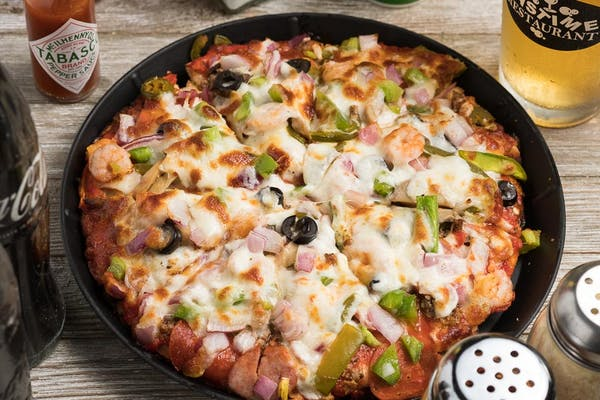 The Everything Pizza