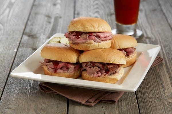 New BBQ Tri-Tip Sliders*
