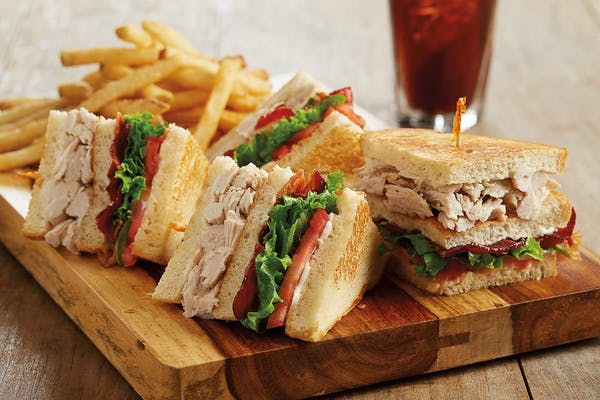 Slow-Roasted Turkey Club
