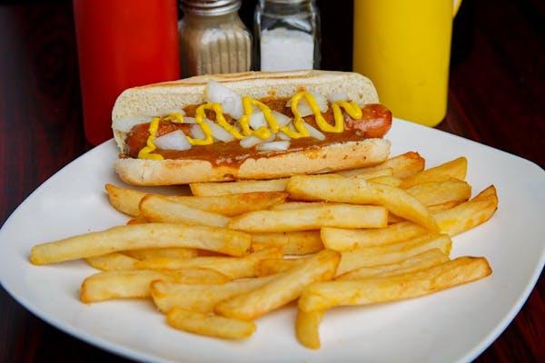 Coney Dog & Fries