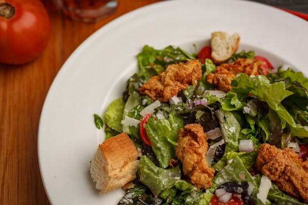 Fried Oyster Caesar Salad