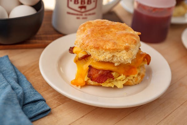Big Bad Biscuit Sandwich