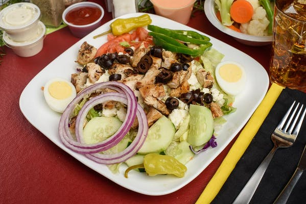 Greek Grilled Chicken Salad