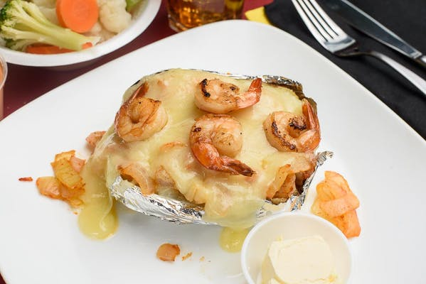 Shrimp Baked Potato