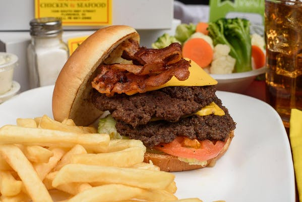 Bacon Double Cheeseburger