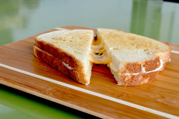 Glorified Grilled Cheese Sandwich