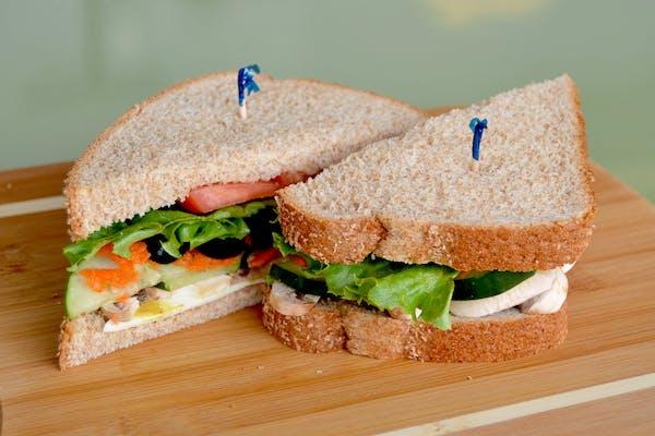 Veggie Health Nut Sandwich