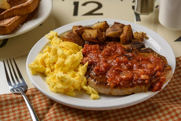Pork Chop & Eggs
