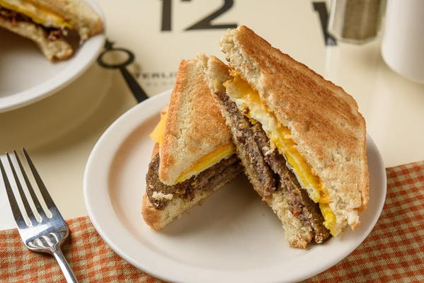Meat, Egg & Cheese Sandwich