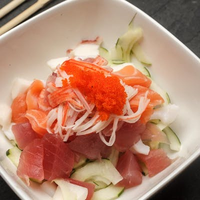 Cucumber & Seafood Salad