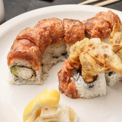 Golden Spider Roll