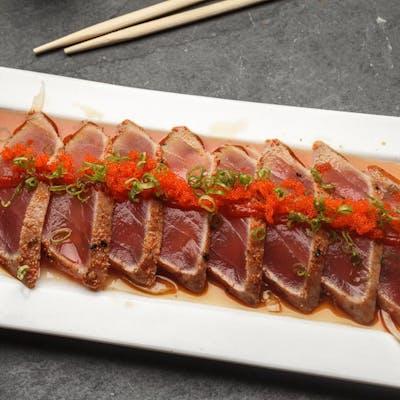 Pepper Tuna Sashimi