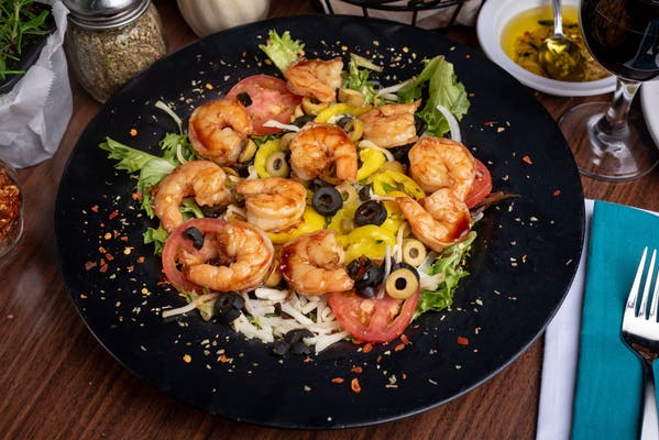 Teriyaki Shrimp Salad