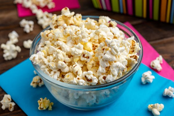 Salty Buttery Popcorn