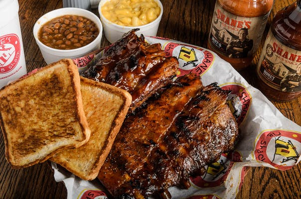 Full Rack Baby Back Ribs Plate
