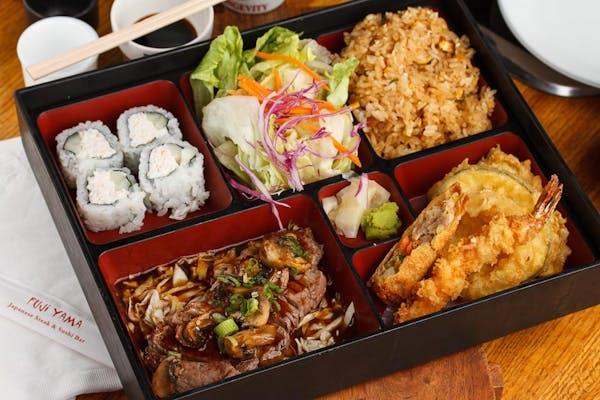 Beef Teriyaki Bento Box