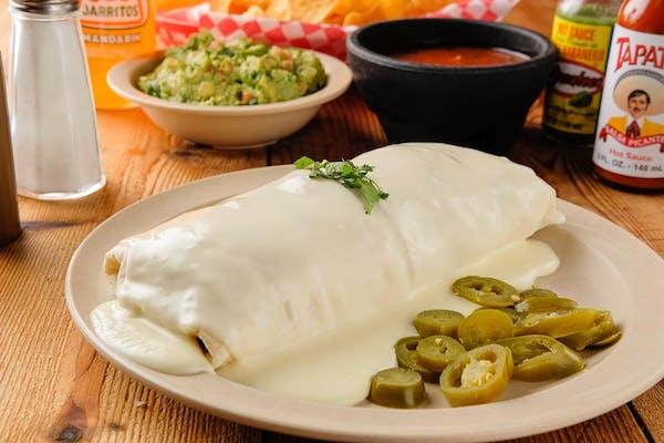 Burrito con Queso Derretido