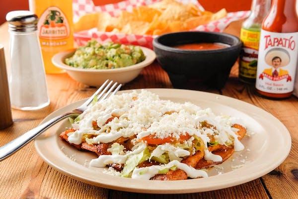 Enchiladas de Pollo o Asada con Una Soda