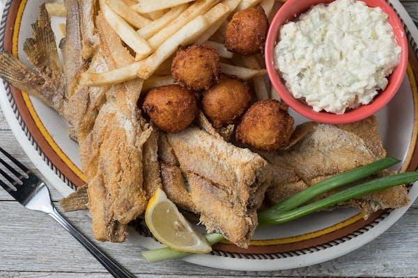 Fried Whole Catfish