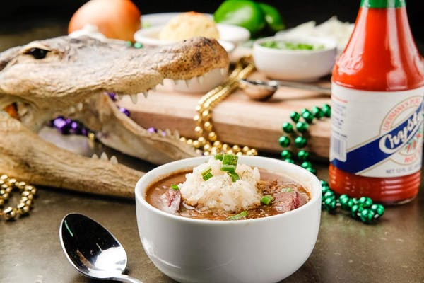 Chicken and Sausage File' Gumbo