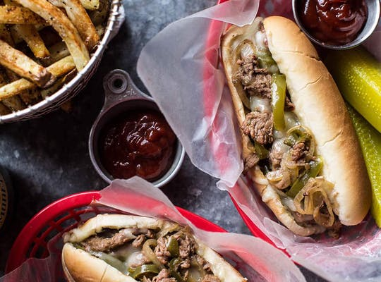 Grand Escape Cheesesteak
